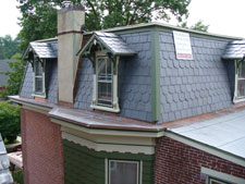 hand-cut salte roofing